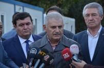Başbakan Yıldırım Heyelan Meydana Gelen Köyü Ziyaret Etti