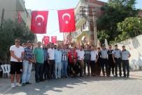 ÇARŞI GRUBU - Beşiktaş Çarşı Grubu'ndan Akhisar'a Anlamlı Ziyaret