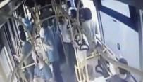 ŞIZOFRENI - Hemşireye otobüste saldırı kamerada