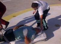 ONDOKUZ MAYıS ÜNIVERSITESI - Kopan Parmakları Ambulans Helikopter İle Hastaneye Yetiştirildi