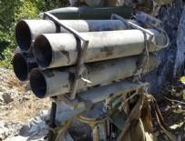 PKK TERÖR ÖRGÜTÜ - PKK'nın çok namlulu roketatarı