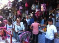 OKUL ALIŞVERİŞİ - Şanlıurfa'da Okul Alışverişi Yoğunluğu