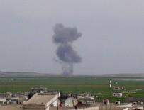 HAVA OPERASYONU - Suriye'de rejime ait savaş uçağı düşürüldü