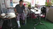 KOZCAĞıZ - Torpile Bastı, Parmakları Kırıldı