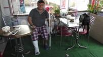 KOZCAĞıZ - Torpilin Üzerine Bastı, Parmakları Kırıldı
