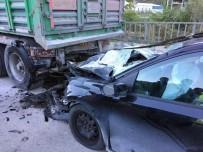 FARABI - Trabzon'da Trafik Kazası Açıklaması 2 Ölü, 2 Yaralı