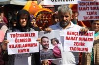 EVLAT ACISI - Acılı Aile, Adalet İçin Oğullarının Öldürüldüğü Parkta Eylem Yaptı