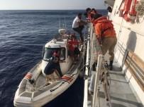 YARDIM ÇAĞRISI - Alanya'da kuru yük gemisi battı
