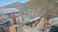 RİZE BELEDİYESİ - Anzer Yaylası'nda Yangın