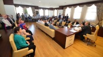VATANA İHANET - Başkan Çetin Personeli İle Bayramlaştı