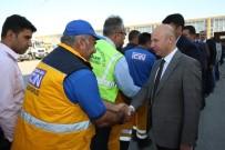 HIZMET İŞ SENDIKASı - Başkan Çolakbayrakdar Belediye Çalışanları İle Bayramlaştı