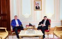 VASIP ŞAHIN - Başkan Memiş'ten Vali Şahin'e Ziyaret