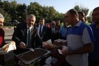 İSLAM - Büyükşehir Belediyesi Personeli Bayramlaştı