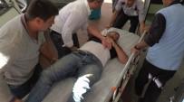 YÜKSEK GERİLİM HATTI - Elektrik Akımına Kapılan İşçi 10 Metreden Düşerek Ağır Yaralandı