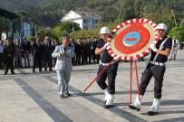 ASKERLİK ŞUBESİ - Fethiye'de 19 Eylül Gaziler Günü Düzenlenen Törenle Kutlandı