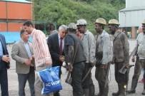 KILIMLI - GMİS Madenci İle Bayramlaştı