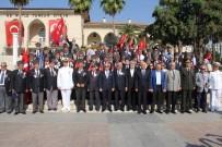 BURHANETTIN KOCAMAZ - Mersin'de Gaziler Günü Törenle Kutlandı