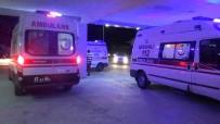 Otomobiller Kafa Kafaya Çarpıştı Açıklaması 1 Ölü, 7 Yaralı