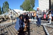 KAZAN DAİRESİ - Palandöken Belediyesi Maksut Efendi Mahallesi'ne İkinci Taziye Evinin Temellini Attı