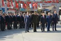 TAHSIN KURTBEYOĞLU - Söke'de Gaziler Günü Töreni