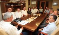 KAYTAZDERE - Başkan Karaosmanoğlu, STK Ve Yerel Yönetimleri Makamında Ağırladı