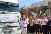 GIDA SIKINTISI - Bilecik'ten Suriye'ye 2 TIR Dolusu Yardım Malzemesi Dualarla Yola Çıktı