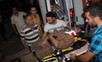 SERVİS ARACI - İki Servis Aracı Çarpıştı Açıklaması 14 Yaralı