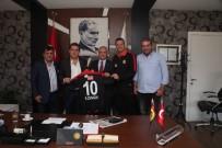HALIL ÜNAL - Rektör Gündoğan'dan Eskişehirspor'a Ziyaret