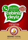 Seydişehir Belediyesi'nden 'Whatsapp İletişim Hattı'' Hizmeti