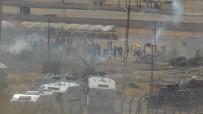 KOBANİ - Sınırın Karşı Tarafından Askere Molotofla Saldırdılar