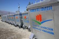 ÇÖP KONTEYNERİ - Üzümlü'de Çöp Konteynerleri Yenileniyor