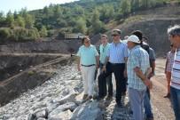 KARAÖZ - Aksu Karaöz Çepeli Barajı Çalışmaları