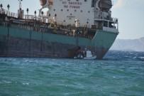 PANAMA - Aliağa'da Tanker Karaya Oturdu