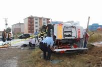 NAMIK KEMAL - Ambulans Takla Attı Açıklaması 1 Ölü, 3 Yaralı