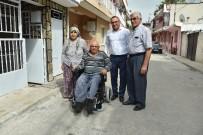 TEKERLEKLİ SANDALYE - Büyükşehir Bir Engelliyi Daha Sevindirdi