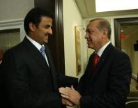KATAR EMIRI - Cumhurbaşkanı Erdoğan Katar Emiri El Sani İle Görüştü
