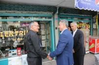 MUSTAFAPAŞA - Elazığ Belediye Başkanı Yanılmaz, Sorunları Yerinde Tespit Ediyor