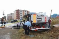 NAMIK KEMAL - Hasta Taşıyan Ambulans Takla Attı Açıklaması 1 Ölü, 3 Yaralı
