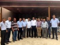 REKABET KURUMU - Mehmet Erdem, Ziraat Odası Başkanlarıyla Pamuğu Konuştu