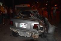 HÜKÜMET KONAĞI - Ortaca'da Trafik Kazaları; 4 Yaralı