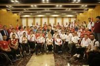 FEDAKARLıK - Paralimpik Oyunları'nda 9 Madalya Kazanan Milli Sporcular Yurda Döndü