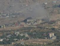 UMURLU - PKK'lı teröristler Derecik'te üs bölgelerine saldırdı