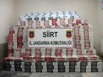 KAÇAK SİGARA - Siirt'te 29 Bin 780 Paket Kaçak Sigara Ele Geçirildi