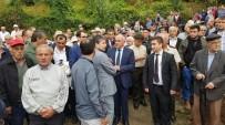 SINOP VALISI - Sinop'ta Yangında Ölen Kadın Toprağa Verildi