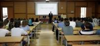 TRAKYA - TÜ'de İlk Ders Rektör Prof. Dr. Tabakoğlu'ndan
