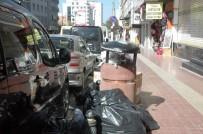 KAYYUM - Van'da çöpler toplanmadı