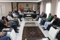MEHMET ÇETIN - Yahyalı'da Okul Servis Şoförleriyle Toplantı Yapıldı
