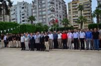 ATATÜRK ANITI - Adanalı Futbol Hakemleri Sezonu Açtı