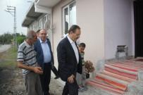 YAŞAM MÜCADELESİ - Başkan Şahin'den İhtiyaç Sahibi Aileye Ev