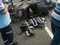 Burhaniye'de Kazada Can Pazarı Açıklaması 1 Ölü, 3 Yaralı